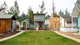 روستایی کوچک برای افراد بی خانمان