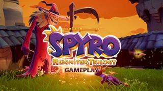 نیم ساعت از گیم پلی بازی Spyro Reignited Trilogy