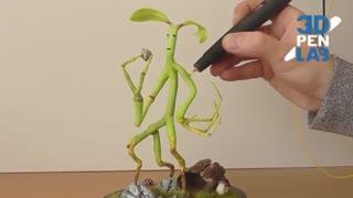 ساخت مجسمه Pickett با قلم 3 بعدی