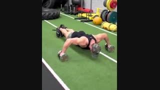 تمرینات ترکیبی برای افراد حرفه ای