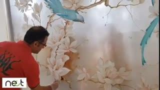 نقاشی روی دیوار | nect.ir