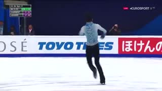 yuzuru hanyu  جدید ترین رکورد