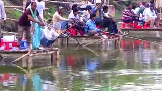 مسابقه ماهیگیری با قلاب کپور