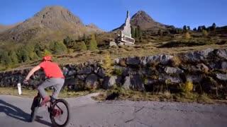 فیلم زیبای دوچرخه سواری