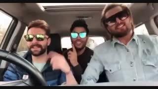 امیر ، حمید هیراد ، مسعود و مسخره بازیاشون