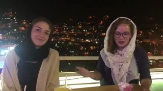 توریست های سوئیسی در شهر پاوه
