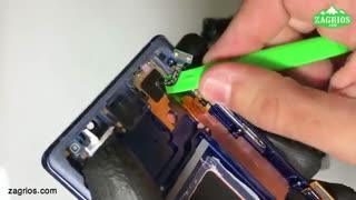 آموزش تعویض تاچ ال سی دی موبایل Note 9 سامسونگ