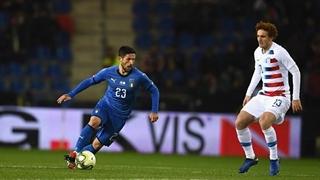 خلاصه دیدار ایتالیا 1_0 آمریکا ( بازی دوستانه)