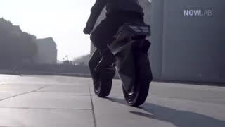 موتورسیکلتی که با پرینتر سه بعدی ساخته شد