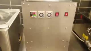 دستگاه پک ظرف یکبار مصرف بزرگ