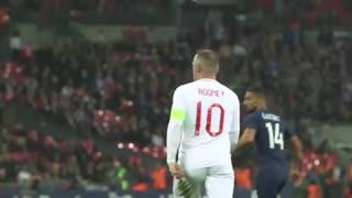 خداحافظی باشکوه وین رونی با تیم ملی انگلیس