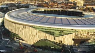 استادیوم جدید تاتنهام؛ چشمانداز پرندگان