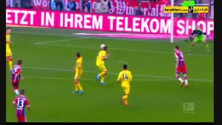 3 گل برتر ماریو گوتزه در دورتموند در بوندس لیگا