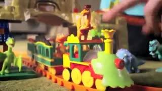 تونل زمان قطار دایناسور