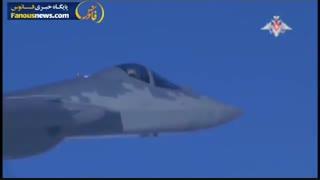 رونمایی ارتش روسیه از هواپیمای جدید رادارگریز در سوریه