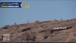 فیلمی از فرار ائتلاف سعودی در عملیات یمنی ها