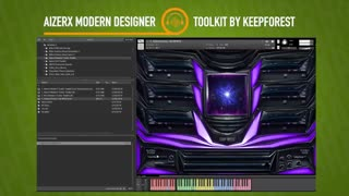 دانلود وی اس تی Keepforest AizerX Modern Trailer Designer Toolkit KONTAKT