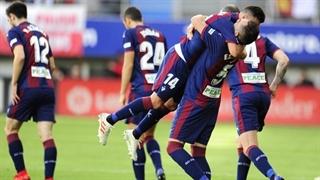 گل اول ایبار به رئال مادرید توسط اسکالانته