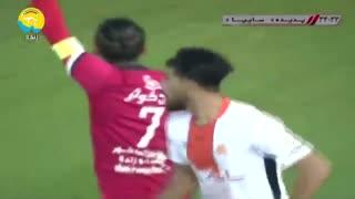 خلاصه دیدار پدیده 1_0 سایپا (هفته سیزدهم لیگ برتر ایران)