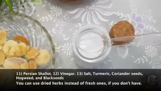 آموزش ترشی مخلوط با نارگل - Mixed Vegetable Pickles With Nargol - Torshi Makhloot