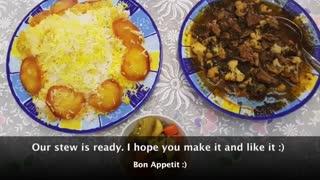 آموزش خورشت گل کلم با نارگل - Cauliflower Stew - Tarze tahieh Khoreshte Golekalam