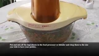 آموزش ترشی لیته با نارگل - Pickles With Nargol - Torshi Liteh