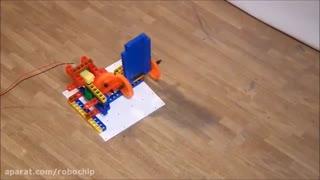 پل مکانیکی با سازه های نت روبیک Net-Robic