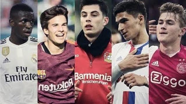 10 بازیکن بااستعداد و آیندهدار فوتبال