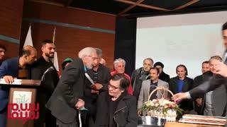 جشن تولد ۸۴ سالگی جمشید مشایخی