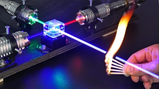 آزمایشات مختلف با قوی ترین لیزر دنیا