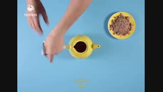 نوشیدنی شکلات و زعفران نیوشا