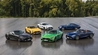 معرفی نسخه 2019 خودروهای سری AMG GT مرسدس بنز