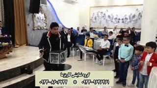 اجرای برنامه شعبده بازی در تالار باغ زندگی (گروه کاریزما)