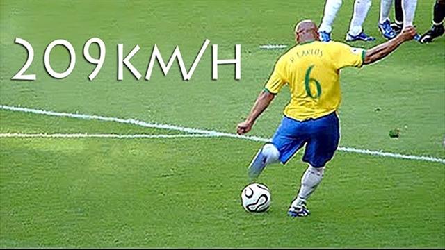 15 گل فوقالعاده و تماشایی از روبرتو کارلوس