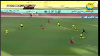 خلاصه دیدار سپاهان 1_0 پدیده (هفته چهاردهم لیگ برتر ایران)