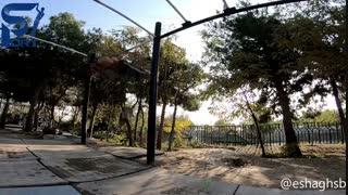 یه ویدیو خفن از اسحاق صبوری  تو راه