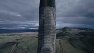 بلندترین بنای آجری به ارتفاع 178 متر