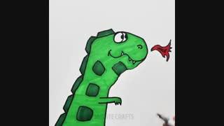 چند ایده خیلی جالب نقاشی با دست برای بچه ها