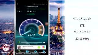 تست سرعت اینترنت در ایران و خارج