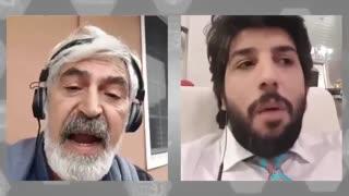 پاسخ های کوبنده امید دانا به طرفدار رضا پهلوی