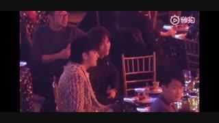 لوهان و کریس امروز در مراسم IQIYI Screaming Night کنار هم نشستن و با هم حرف زدن *-*