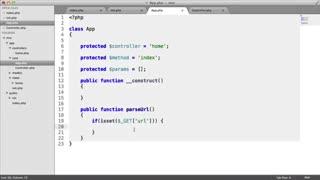 آموزش طراحی فریم ورک اختصاصی با PHP MVC - جلسه 4
