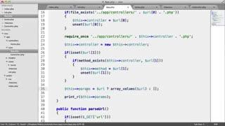 آموزش طراحی فریم ورک اختصاصی با PHP MVC - جلسه 5