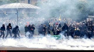 شورش و درگیری در پاریس