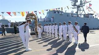 ملحق شدن ناوشکن سهند به ناوگان نیروی دریایی ارتش