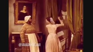 """دوبله ی جواد خواجوی بر روی فیلم """"بر باد رفته """"  : )))"""
