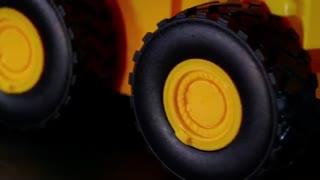 کامیون حمل  خاک مدل CAT