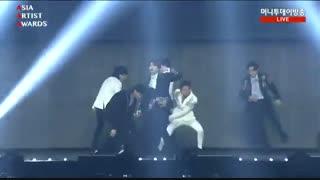 "GOT7 in  ""Asia Artist Award  اجرای  آهنگ های lullaby & Look گات سون در فستیوال AAA"