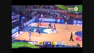 خلاصه بسکتبال فیلیپین 70 - ایران 78 (12-9-1397)