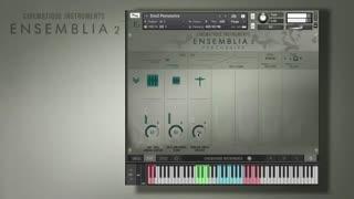 دانلود وی اس تی Cinematique Instruments Ensemblia 2 Percussive KONTAKT